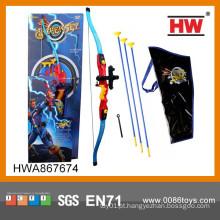 Crianças de alta qualidade brinquedo plástico arco e set set