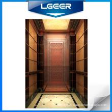 Rose Gold Mirror St/St Passenger Elevator /Lift