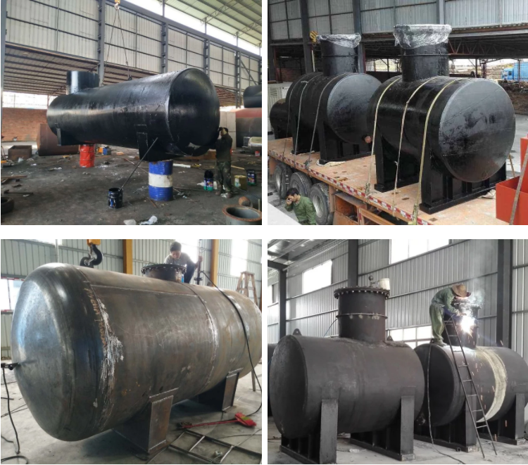 double storage tank oil tank fabrication