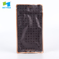 Plastic De-Metalized Flat Bottom Bag Para Chocolate