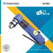 "Rongpeng RP7115 3/8 ""Perceuse à angle réversible 1500 tr / min"