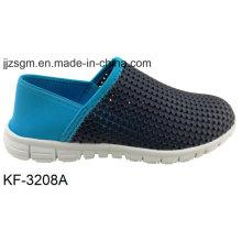 Красочные света EVA Slip-on обувь