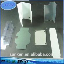 Transparent polyester mylar tape of fiberglass sheet