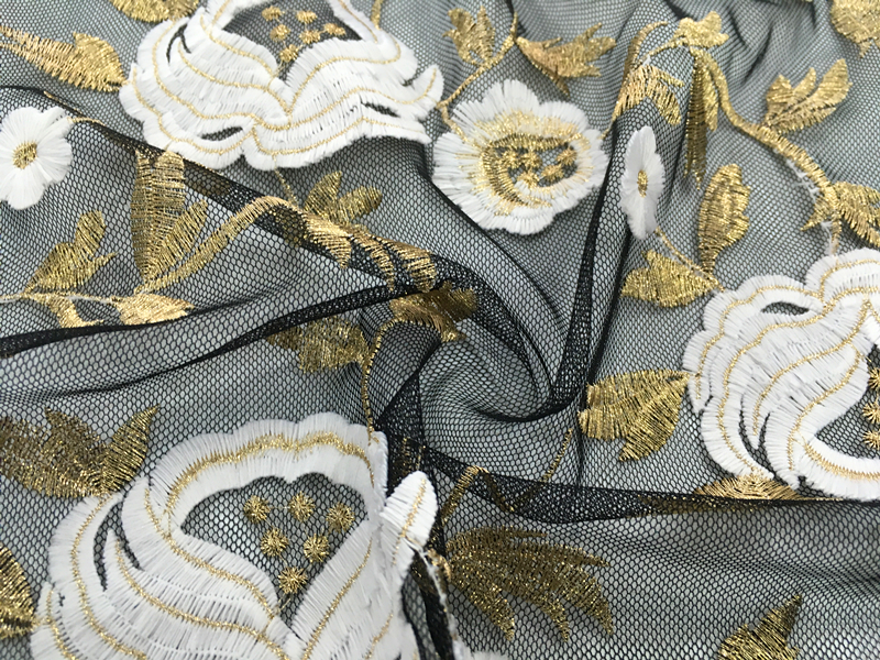 3D embroidery Fabric