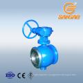 flange connection semi sphere ball valve 10mm pn16 ball valve dn20 semi ball valve