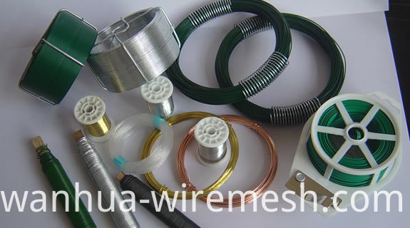 1.3MM diameter round shape Small coil tie wire (1)