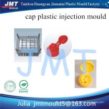 fabricante de molde de injeção plástica de tampa garrafa bem desenhado