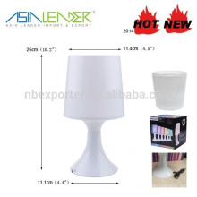Lámpara de mesa 4RGB LED de luz de estado de funcionamiento con batería