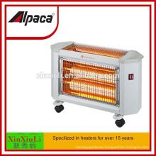 electrical mini space heater quartz fan heater