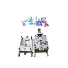 Molde de inyección de jeringa de plástico para equipos médicos de precisión