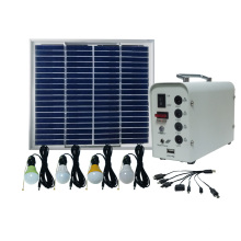 20W Poly Solar Panel para Small Home System 5W Bulbs