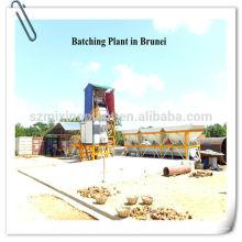 Planta de mistura de betão fixo de baixa fixação, Planta de mistura de concreto estacionária