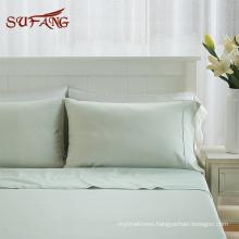 Cloud soft colorful tencel lyocell bedding , pleat design duvet cover set