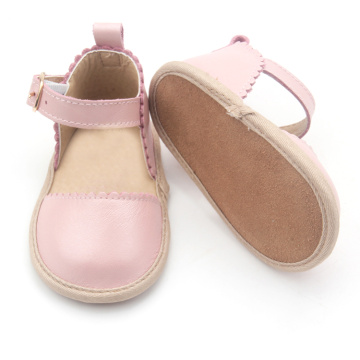 New Arrival America Style Soft Leather Baby Shoes