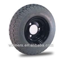"Roue et pneu tubeless 9 ""x 3.50-4"