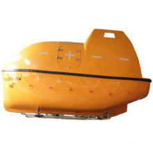 Solas approved 5M length totally enclosed lifeboat and gravity davit
