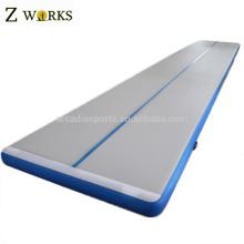 Tapis gonflables pliables bon marché de Gymnastics de plancher de ressort de gymnase à vendre