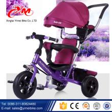 2015 meistverkauftes Baby-Dreirad in China / kaufen Dreirad für Kinder aus Yimei Fahrrad / 3 Räder schieben Trike mit Baldachin
