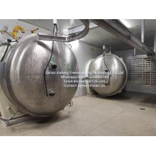 Freeze drying equipment for Sliced Kiwi