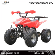 70cc/90cc/110cc Kids Mini Quad ATV 4 Wheel Gasoline Bike ATV Factory China