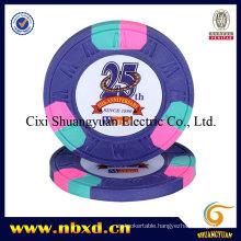 9.5g 3-Tone M Sticker Chip (SY-C07)