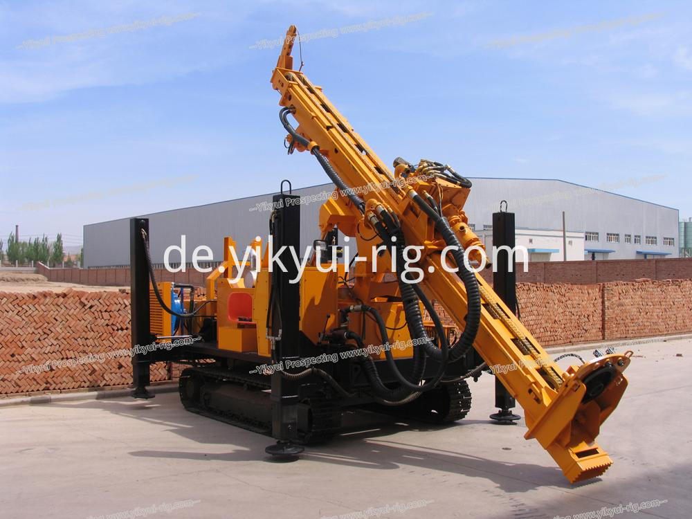 Ykrc 500a 270m Reverse Circulation Dth Drilling Rig 9 Jpg