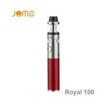 2016 China Supplier Jomo E Cigarette Royal 100W Vapor Pen 100 Watt Vaporizer Pen Royal 100W Kit