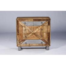 Meubles de salon de chambre à coucher Ensemble de 4 tiroirs en bois