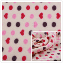 100%Polyester Printed Polar Fleece Anti-Pilling One Side, Double Brushed