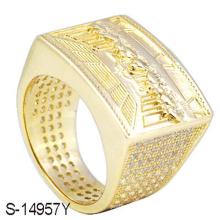 Nouvelle bague de diamants en argent sterling 925 Sterling Silver pour hommes