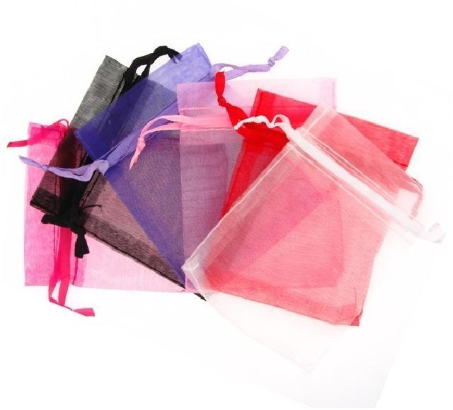 Supply design organza bag