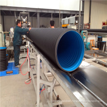 High quality double wall culvert pipe Cheap 24inch 48 Inch Corrugated Drain Pipe
