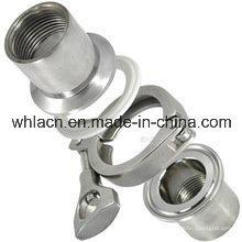 Adaptador de tubo de fundição de aço inoxidável (fundição por cera perdida)
