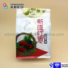 Dried Fruit Plastic Packaging Bag of Food Grade