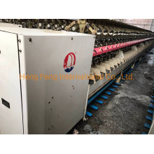 Wanli -Wl2002 Two-for-One Twister Spinning Machine for Short Fiber with 144 Spindles Year 2009-2010 Wool Yarn Making Machine