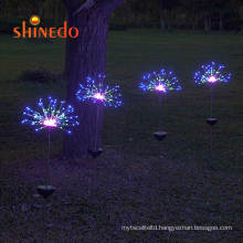 Waterproof RGB Color Changing Good Looking Solar Garden Lawn Decorative Stake Night Light