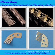 Progressive Mold for Stamping Metal