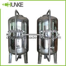 Boîtier de filtre mécanique de carbone de sable de Ss304 pour le traitement de l'eau à vendre