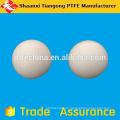 Ptfe válvulas de bola redondas de plástico