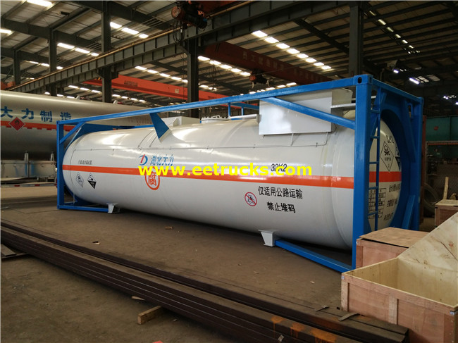 HCl Tank Storage Containers