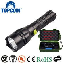Uso de mergulho alta potência alumínio IPX-8 impermeável lanterna LED