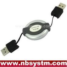 USB AM zu AM Computer Kabel PC Kabel Adapter versenkbar