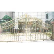 Porte de jardin en métal de l'Europe