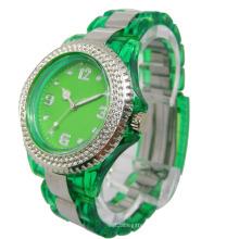 2013 Quarz Sport Transparent Kunststoff Uhr