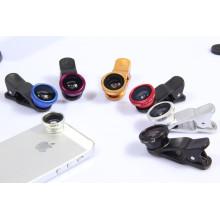 Universal Clip 180 Degree Fisheye Lens for Mobile Phone, Cellphone Camera Lens