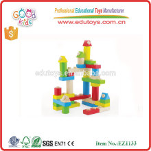 Durable Interlocking design Eye Coordination Creative Brick Toys, Set of 35pcs
