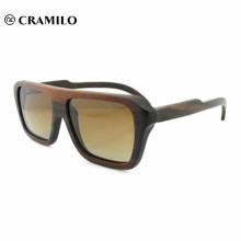 Custom logo high quality bulk wooden sunglasses handmade bamboo
