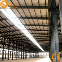 Taller de estructura de acero prefabricado con grúa (SSW-42)
