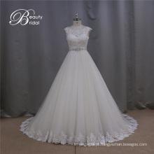 Amostra Real de Guangzhou A-Line Bridal Dresses