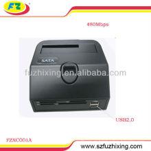 Multi-función USB2.0 SATA HDD Docking Station